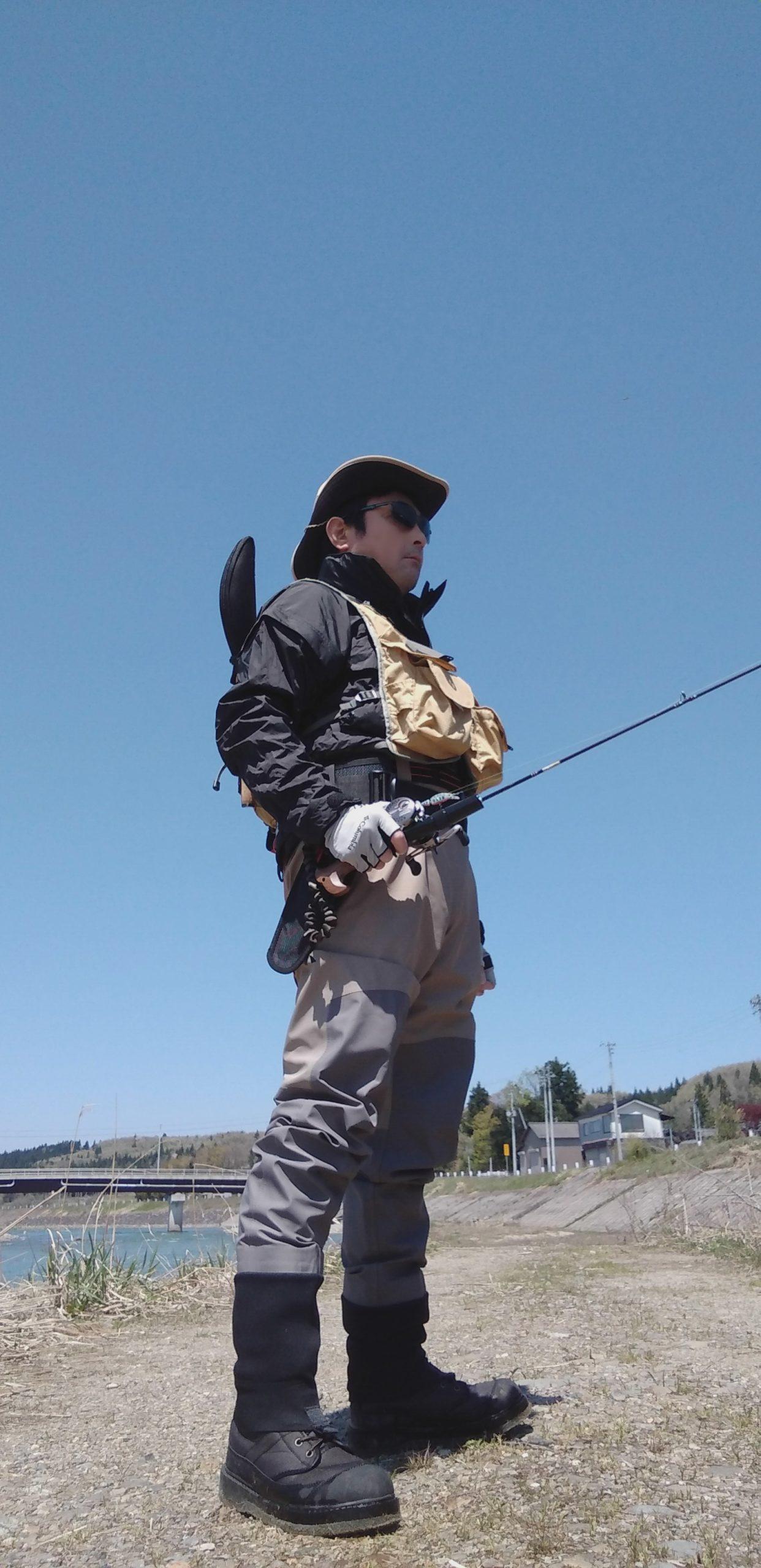 渓流釣り 装備品